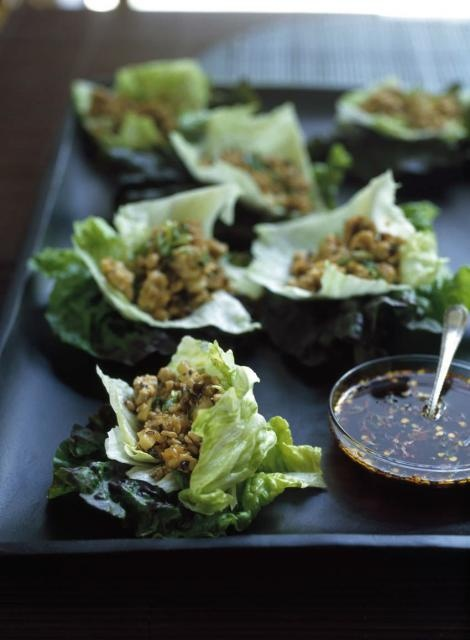 Chicken And Cashews In Lettuce Cups Recipes — Dishmaps