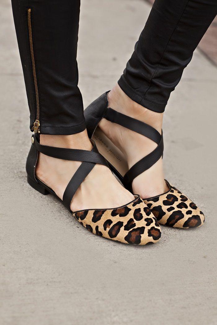shop bags online Leopard flats Leopard ish