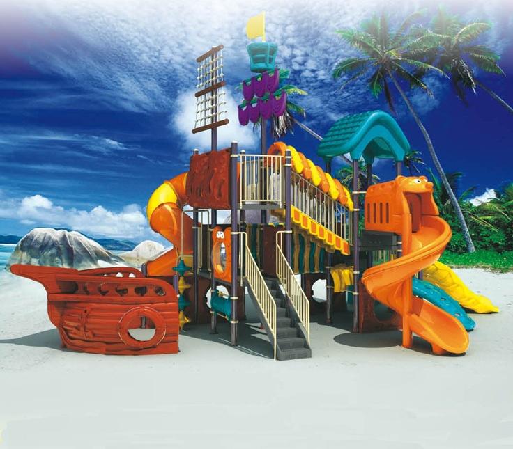 Cool Backyard Playgrounds : cool playground  SummerTime  Pinterest