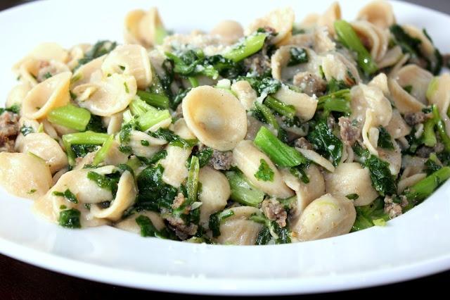and broccoli pasta orecchiette with chicken sausage and broccoli rabe ...