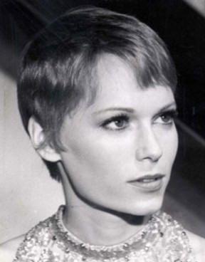 Soft Gentle Pixie Haircut by Mia Farrow | Mia Farrow ... | 288 x 368 jpeg 13kB