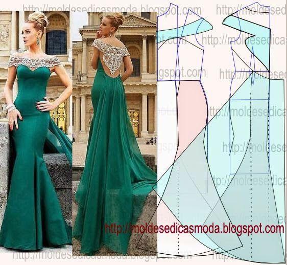 Как самому сшить красивое вечернее платье