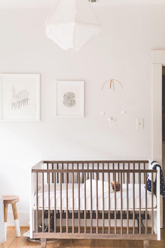 Neutral modern nursery design | n.barrett photography | 100 Layer Cakelet