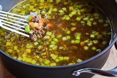 Recipe for Comforting Ground Beef and Barley Soup (and Happy Birthday ...