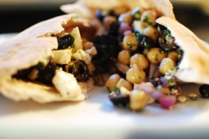 Greek Style Chickpea Salad: I am kind of venturing into chickpea land ...
