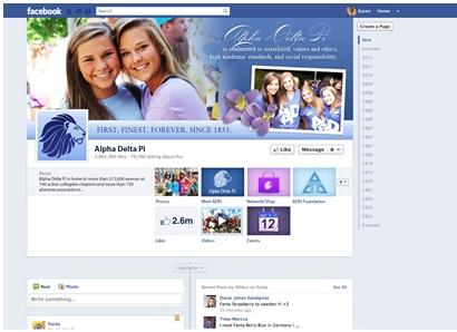 Our new Timeline is LIVE! www.facebook.com/myADPi