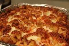 Baked Chicken Parmesan.   A pinner says: This could be the BEST recipe I have found on here! Chicken Parmesan bake! No frying, just baking