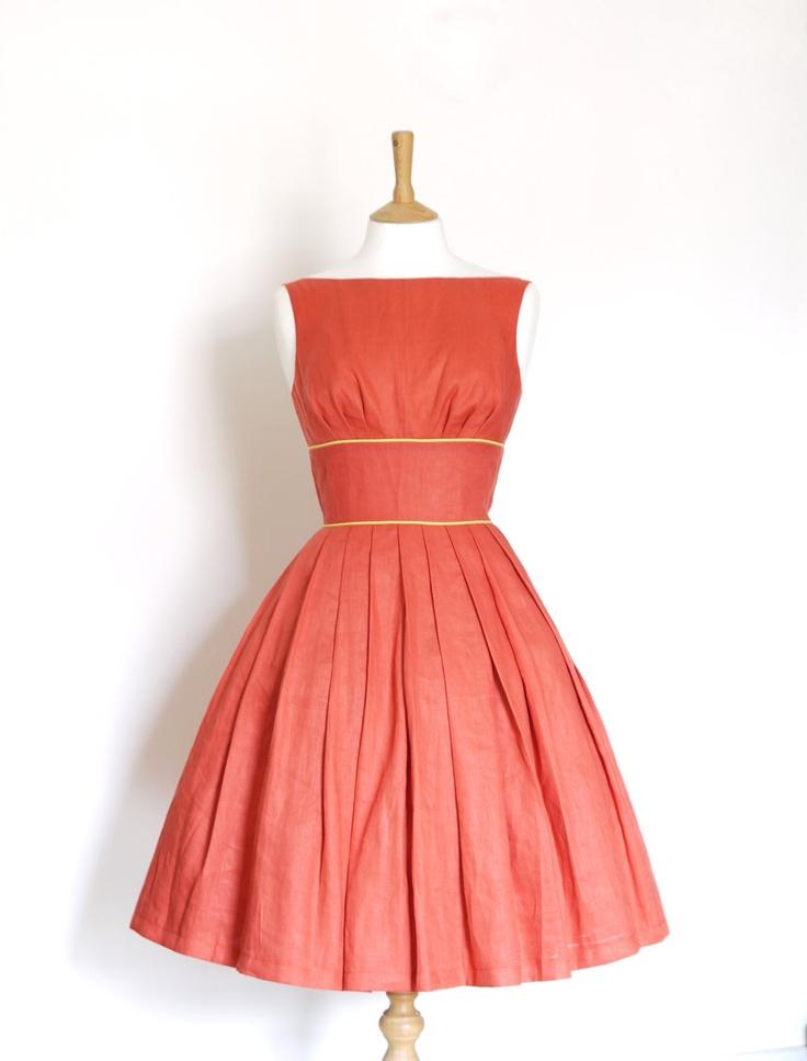 Bridesmaid Dresses Terracotta 117