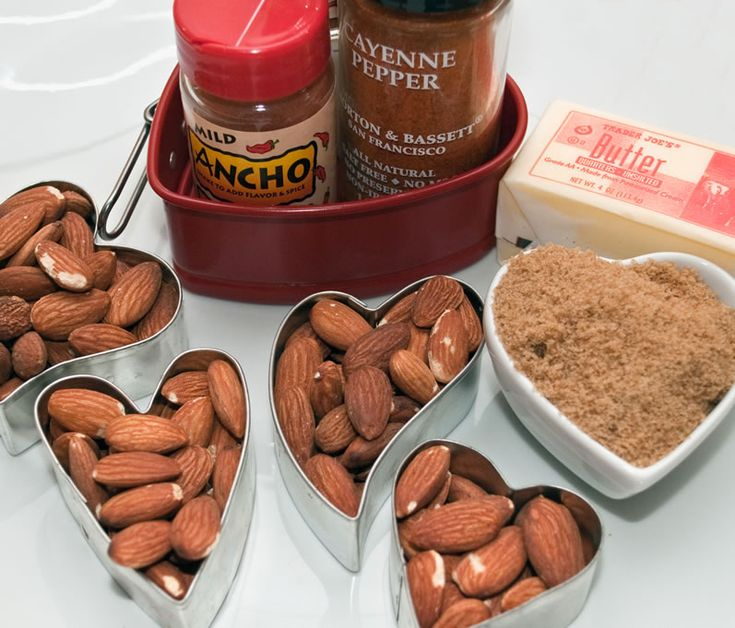 More like this: cinnamon almonds , chile and almond .