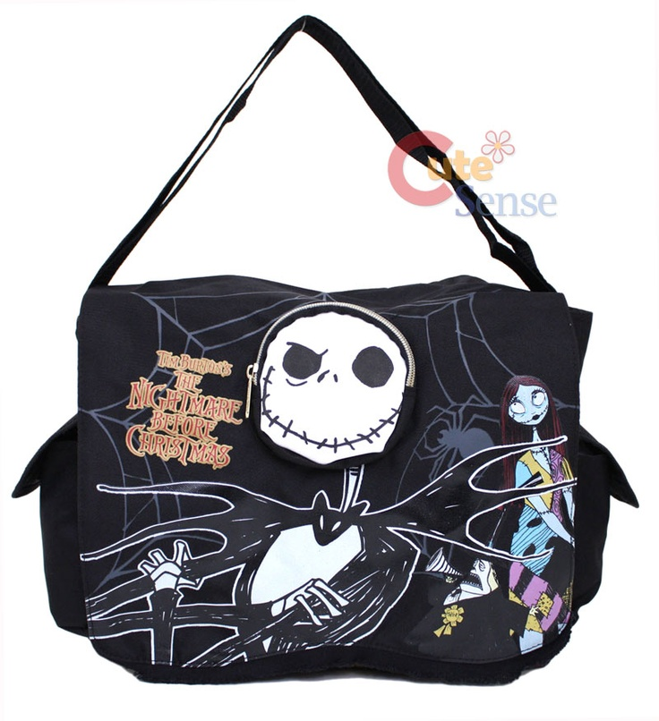 Nightmare Before Christmas shoulder messenger bag