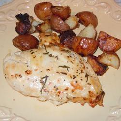 Crispy Rosemary Chicken and Fries | Recipe