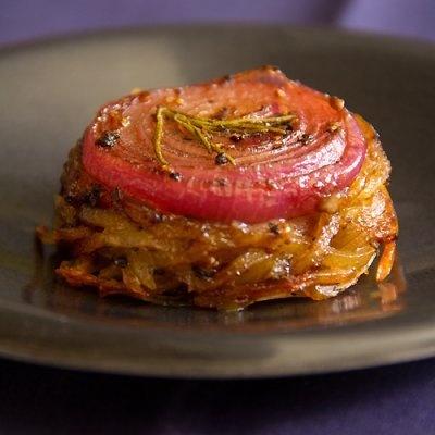 Onion-Topped Potato & Rutabaga Cakes (Neeps and Tattie Cakes) | Recipe