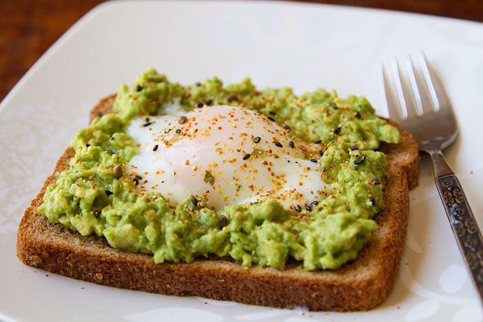 Egg & Avocado Toast #recipe | Seasonal Cooking | Pinterest