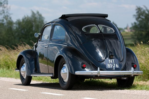 1951 vw beetle split window folding roof vw stories for 1951 volkswagen split window