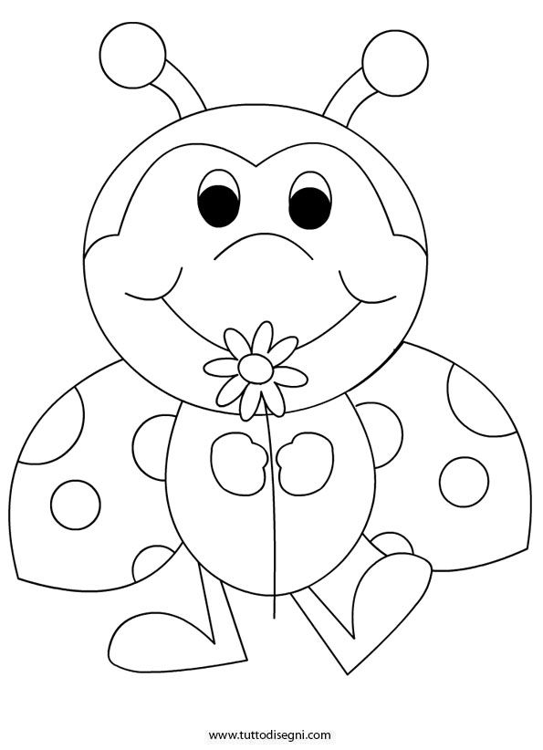 bug coloring pages ladybug - photo#24