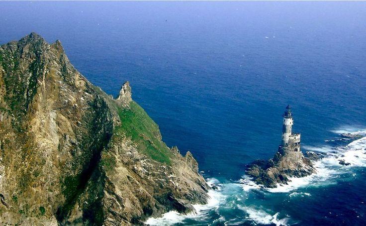 Abandoned Lighthouses - Aniva Rock