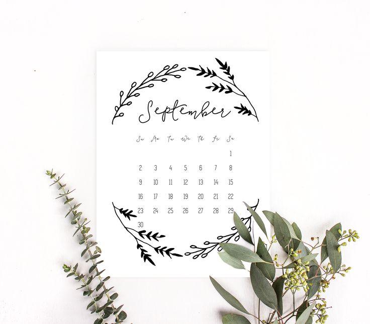 57 best 2018 Calendar printables & Printable planners images on ...
