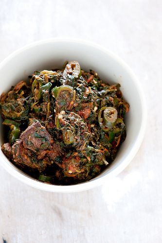 ingredients | 10 minutes] saag lamb (lamb & spinach curry) serves 2