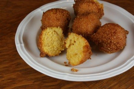 Hush Puppy Mix: 1 1/2 cups yellow corn meal, 3/4 cup all purpose flour ...