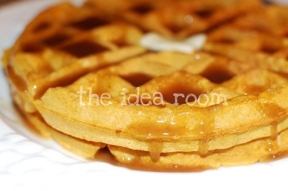 pumpkin waffles! | Most Important Meal of the Day | Pinterest