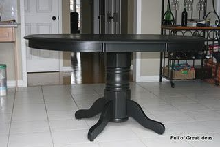 refinishing dining room table tutorial dream home