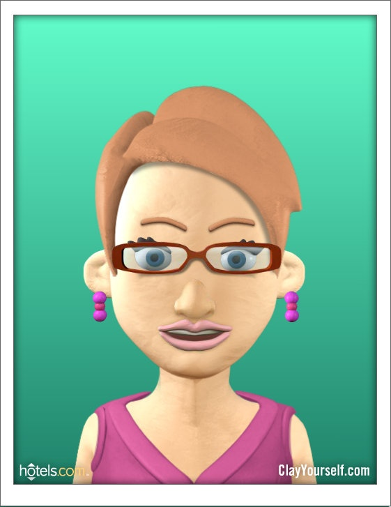 Clay Yourself website allows you to make  a cool avatar http://clayyourself.com/