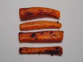Spiced Carrot Fries Recipe on Chocolate & Zucchini