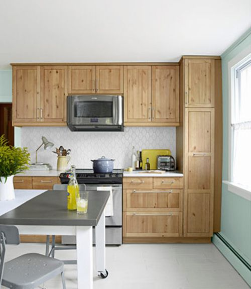before and after kitchen makeover on a budget
