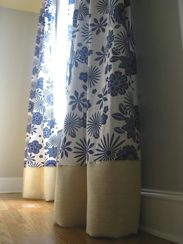 No sew curtain extenders (mine are always coming up short) The ...