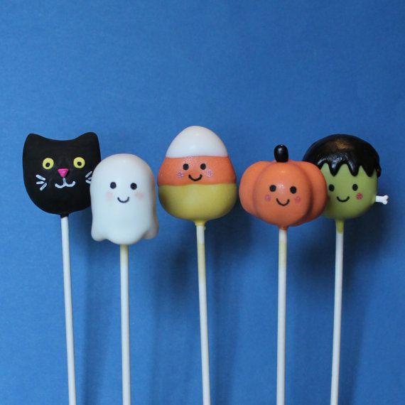Halloween Cake Pop Designs