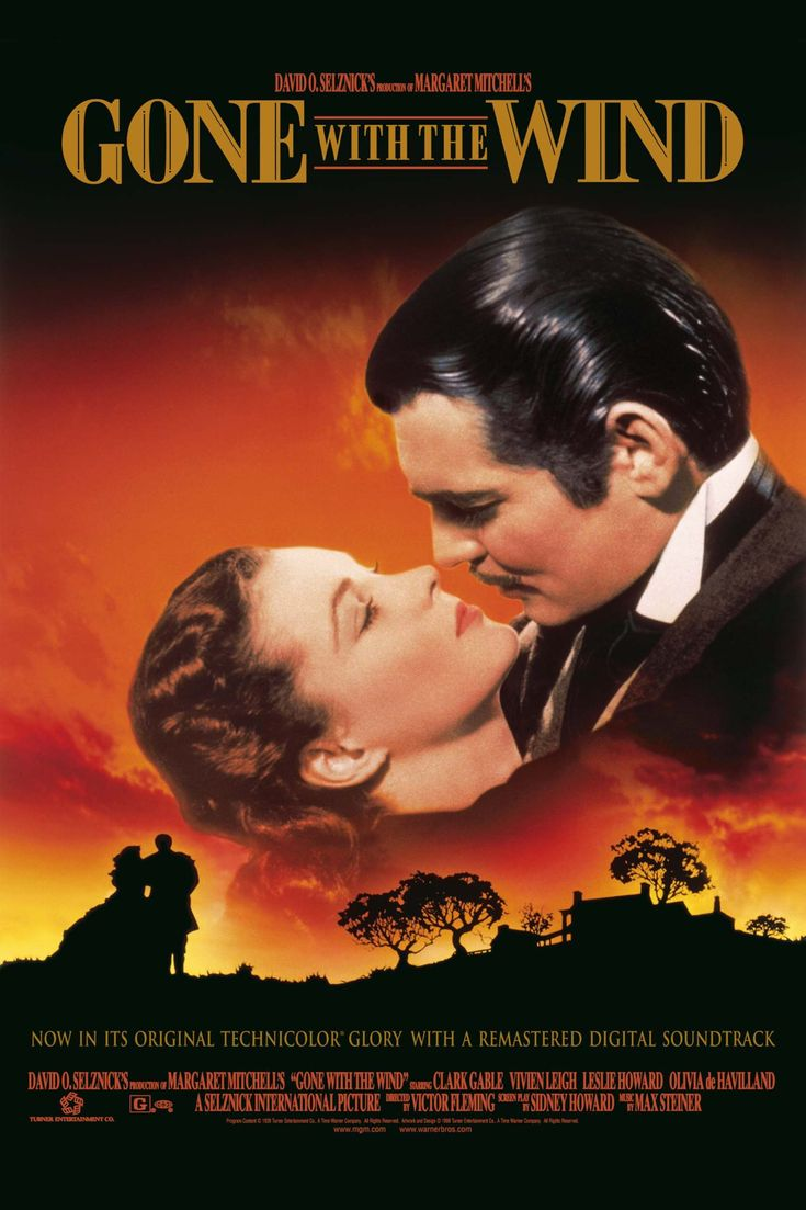 Gone With the Wind - been up to many romantic movies then...it just come up from where it all started...