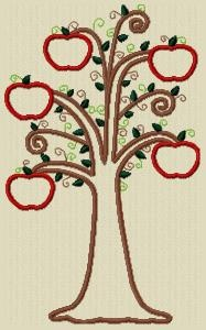 APPLIQUE TREE PATTERNS - Patterns - APRON PATTERN STYLE