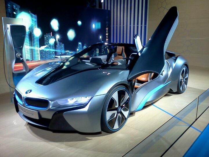 BMW concept i8 roadste...