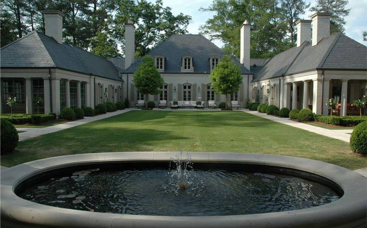 Want a u shaped house one day dream home pinterest for U shaped house with courtyard