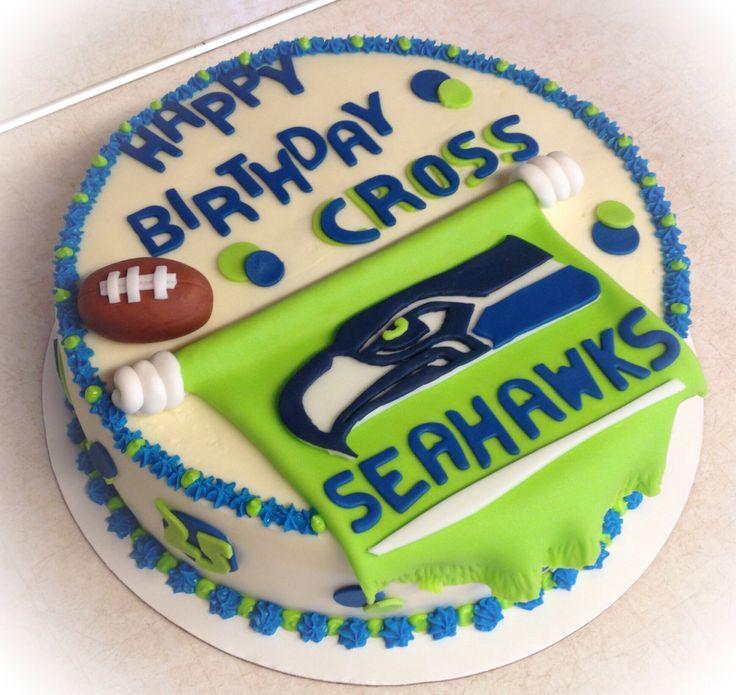 seahawks cake decorations