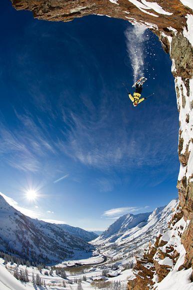 Ski Jumping in Alta, Utah