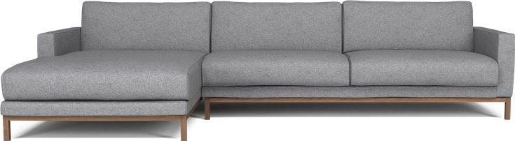 North 3 pers sofa m chaiselong bolig pinterest for U sofa med chaiselong