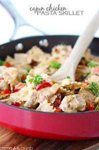 Cajun Chicken Pasta Skillet | Recipes | Pinterest