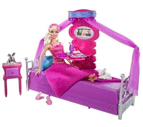 Marktplaats.nl > Barbie Luxe Barbiepop en meubels - Slaapkamer - Nieuw ...