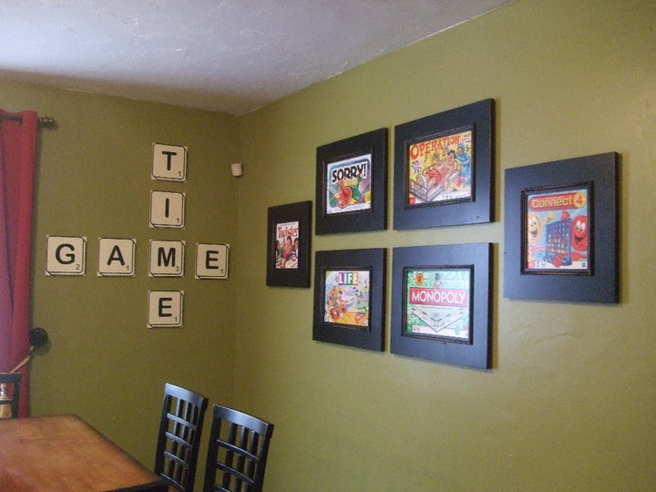 Cute Idea For A Game Room Room Ideas Pinterest