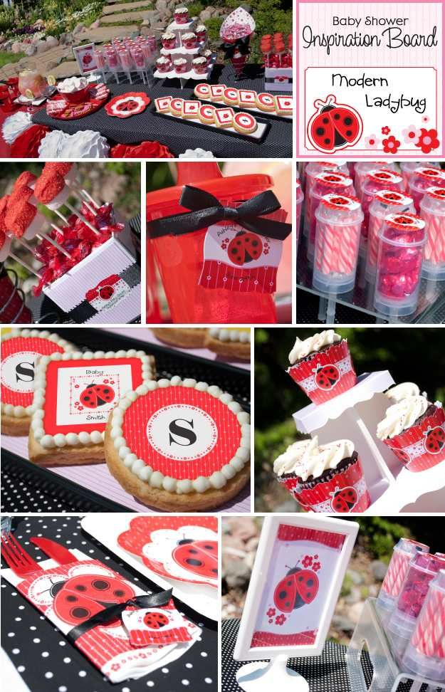 ladybug party decorating ideas ladybug birthdayparty babyshower