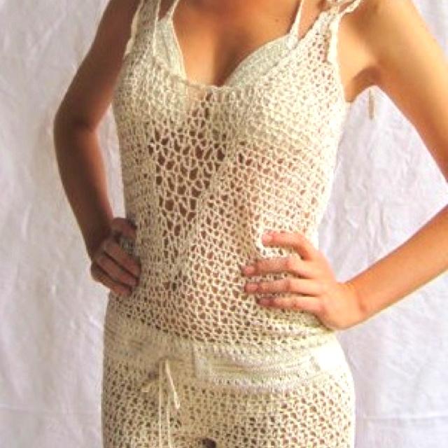 Crochet romper Crochet Womens Skirts, Shorts, Pants Pinterest