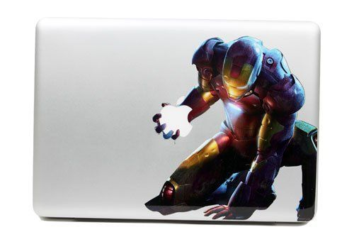 Ironman mac skin mac laptop skins pinterest