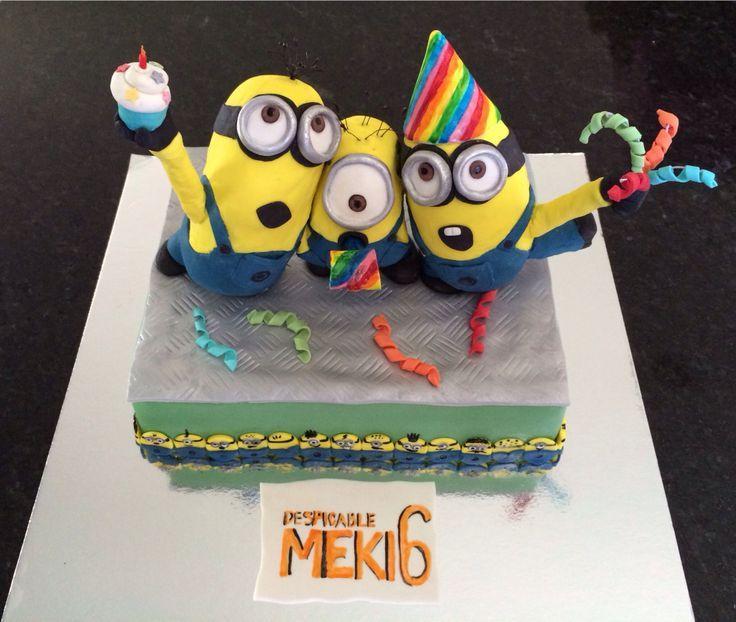 minions cake for boys