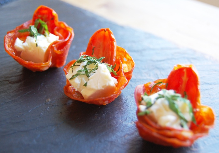 Canap presentation canape presentation pinterest for Chorizo canape ideas