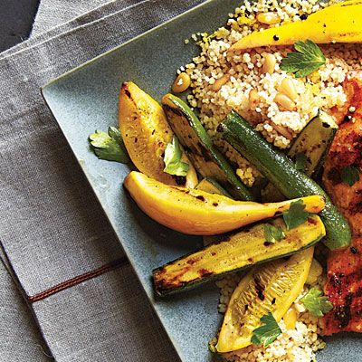 Summer Squash and Zucchini Recipes - Grilled Summer Squash - Cooking ...
