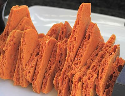 Honeycomb Brittle | Treats for fun | Pinterest