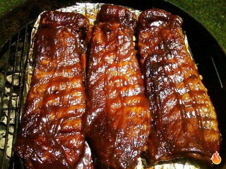 Honey smoked ribs | Grill | Pinterest