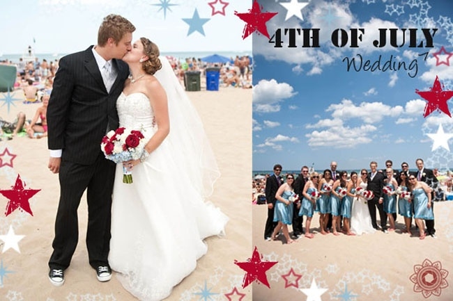 fourth of july wedding cakes