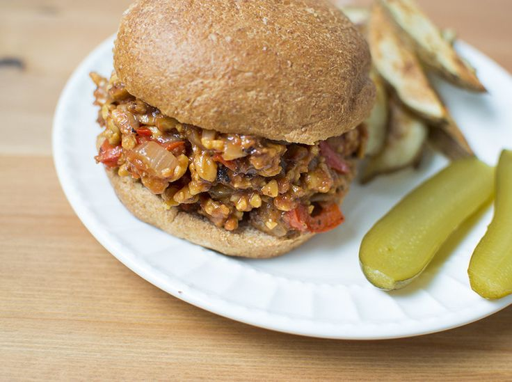 Tempeh Sloppy Joes | {Grain-Free} Vegan | Pinterest